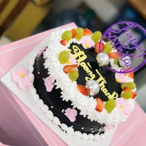 Bánh sinh nhật chay socola