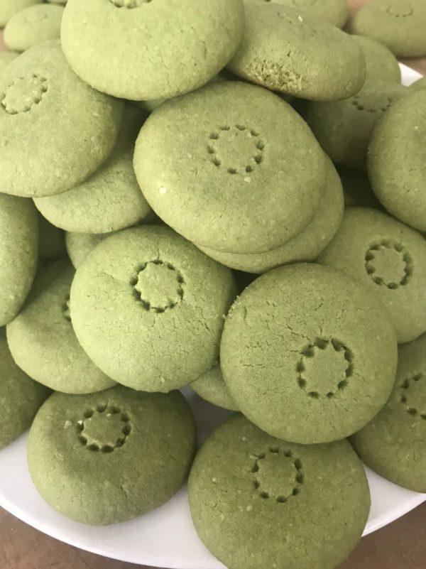 Bánh cookies trà xanh