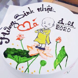 Bánh kem vẽ theo yêu cầu